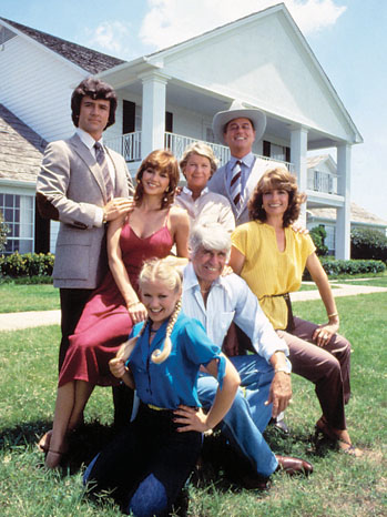 The Cast of the First Season of 'Dallas'