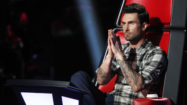 The Voice Top 8 Adam Levine in Chair - H 2012