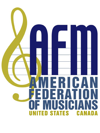 AFM American Federation of Musicians Logo - P 2012