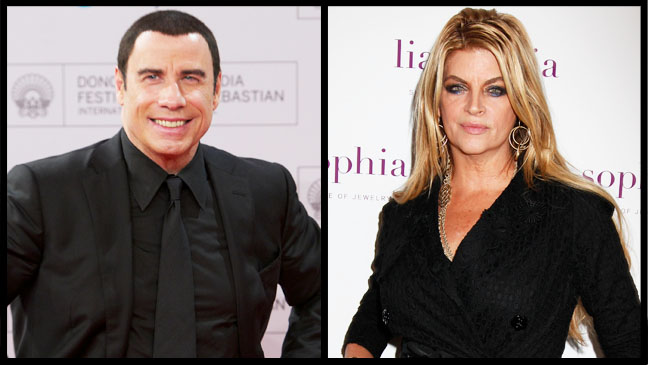 Kirstie Alley John Travolta Split - H 2012