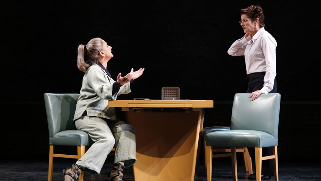 The Anarchist Patti LuPone and Debra Winger - H 2012