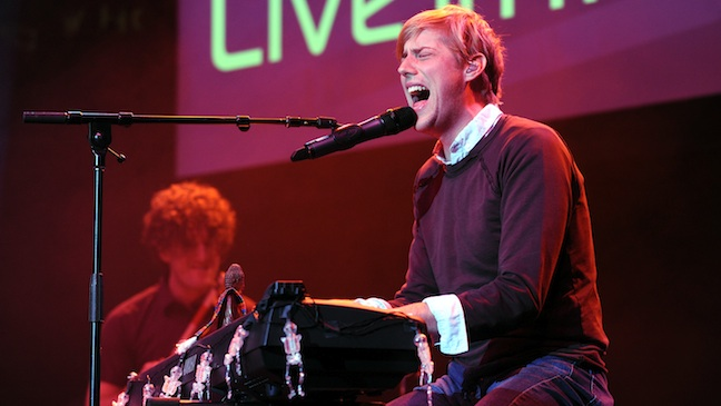 Andrew McMahon Performing Jack's Mannequin H 2012