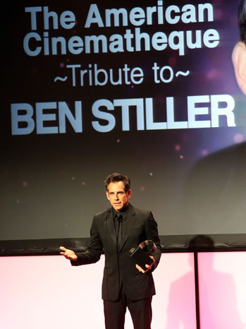 Ben Stiller American Cinematheque - P 2012