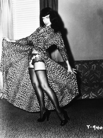 Betty Page Reveals All PR Image - P 2012