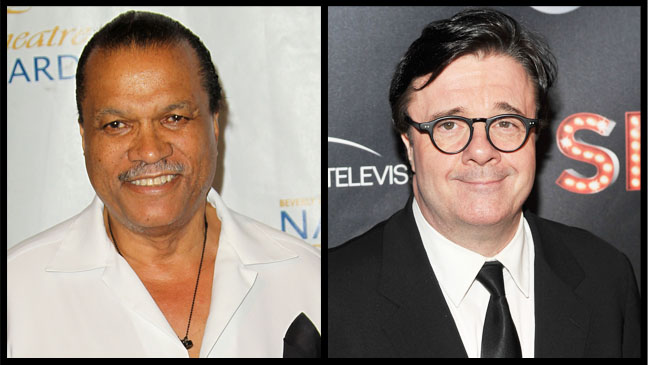 Billy Dee Williams Nathan Lane Split - H 2012