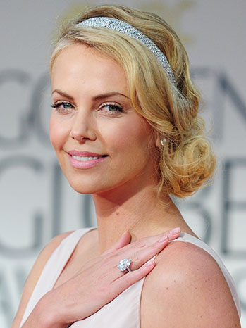 Charlize Theron's Modern Flapper