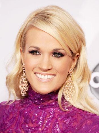 Carrie Underwood American Music Awards Headshot - P 2012
