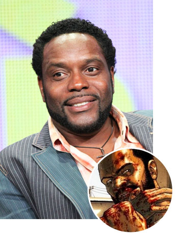 Chad Coleman Tyrese Walking Dead Inset - P 2012