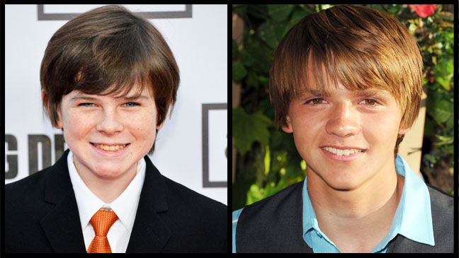 Chandler Riggs  Joel Courtney Split - H 2012