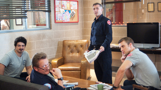 Chicago Fire Episodic Hanging On - H 2012