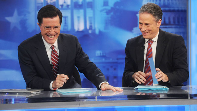 Stephen Colbert Jon Stewart Indecision 2008 - H 2012