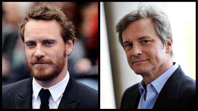 Colin Firth Michael Fassbender Split - H 2012
