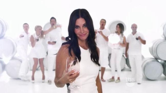 Cougar Town Promo Screengrab- H 2012