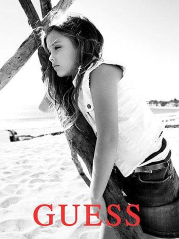 Danni Lynn Smith Guess Ad - P 2012