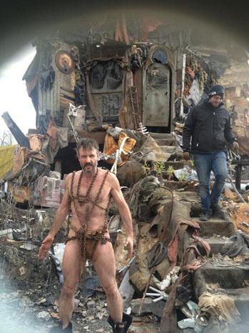 David Arquette Twitter Costume - P 2012