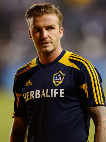David Beckham L.A. Galaxy - P 2012