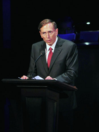 David Petraeus Washington National Cathedral - P 2012