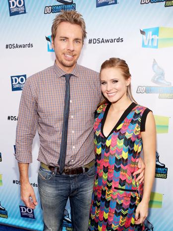 Dax Shepard Kristen Bell Do Something Awards - P 2012