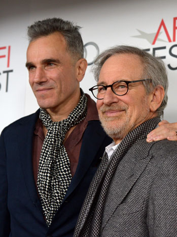 Daniel Day-Lewis Stephen Spielberg Lincoln Premiere - P 2012