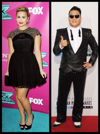 Demi Lovato Psy Split - P 2012