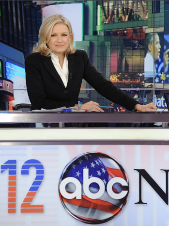 Diane Sawyer ABC News Election Night - P 2012