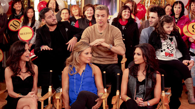 Dancing With The Stars Good Morning America - H 2012