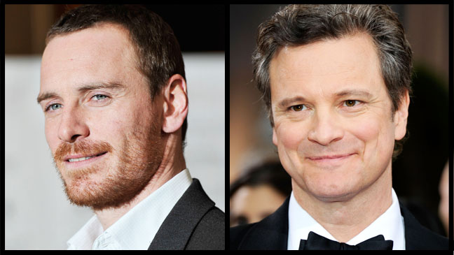 Colin Firth Michael Fassbender Split 2 - H 2012