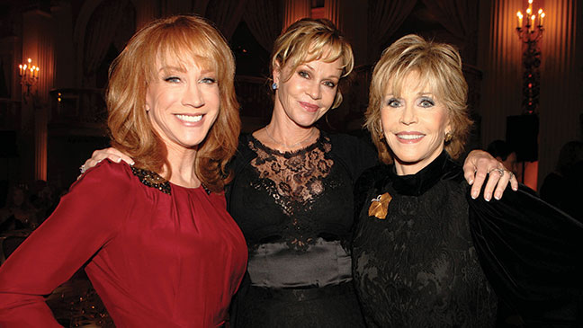 2012-43 RED Kathy Griffin Melanie Griffith Jane Fonda H