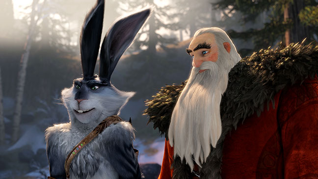 "CGI: ""Rise of the Guardians"""