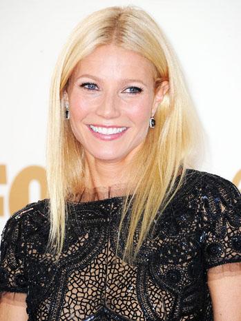 Gwyneth Paltrow Emmy Arrivals Headshot - P 2012