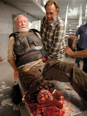 The Walking Dead Hershel Amputation - P 2012