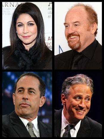 Caroline Hirsch Louis CK Jon Stewart Jerry Seinfeld - P 2012