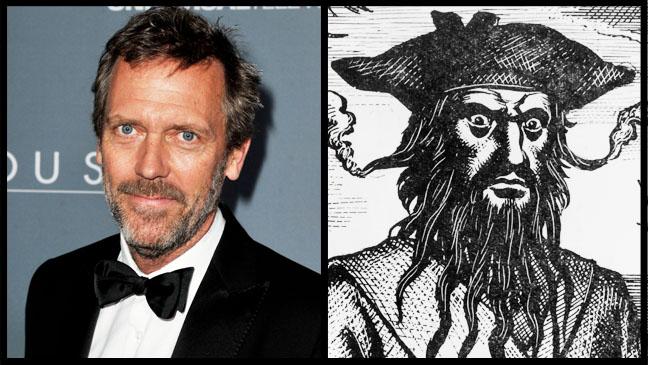 Hugh Laurie Blackbeard Split - H 2012