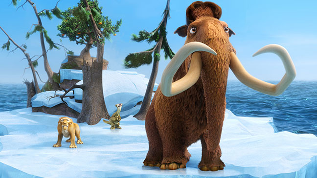 "CGI: ""Ice Age: Continental Drift"""
