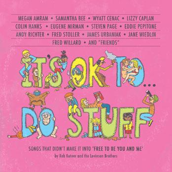Its Ok To Do Stuff Album Cover - S 2012