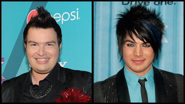 Jason Brock Adam Lambert split L