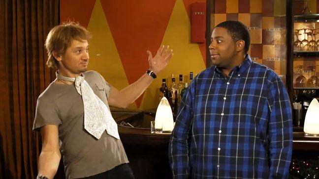 Jeremy Renner SNL Promo Screengrab - H 2012