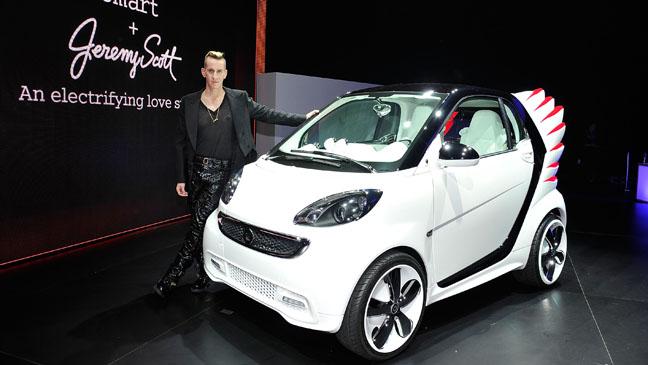 Jeremy Scott Smart Car - H 2012