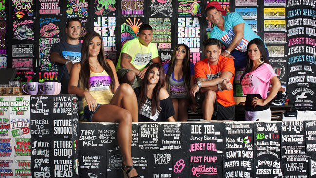 Jersey Shore Cast in Shore Store - H 2012