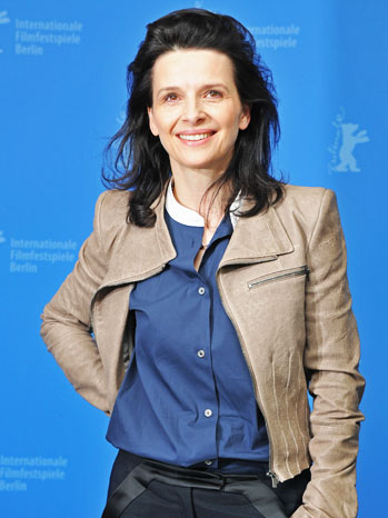 Juliette Binoche Elles Photocall - P 2012