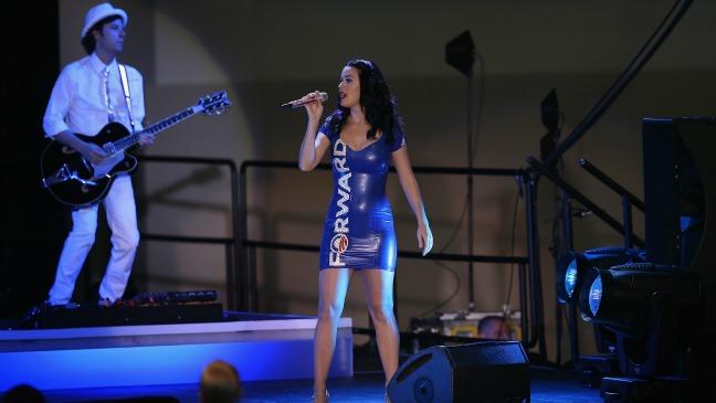 Katy Perry Obama Rally Nov 3 - H 2012