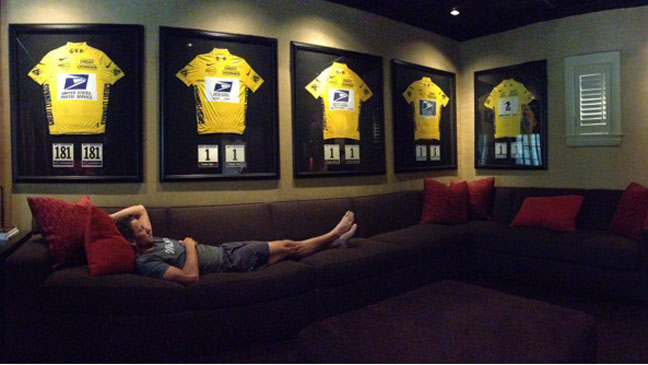 Lance Armstrong Jerseys - H 2012
