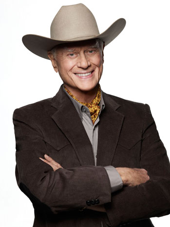 Larry Hagman DALLAS PR Image - P 2012