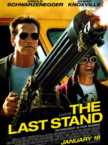 The Last Stand Key Art - P 2012