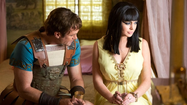 Liz & Dick Couple on set of Cleopatra - H 2012