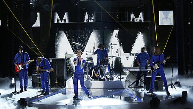 Maroon 5 The Voice November 8 - H 2012