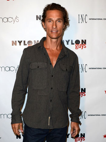 Matthew McConaughey The Bungalow - P 2012
