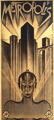 Metropolis Poster Art - P 2012