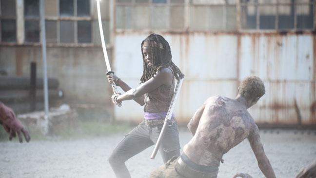 The Walking Dead Michonne 305 - h 2012