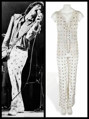 Mick Jagger 1973 Costume Christies Split - P 2012